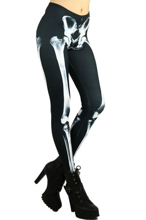 Walking Skeleton Leggings