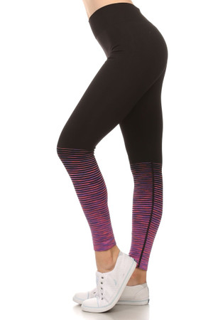 Tornado Color Fade Workout Leggings