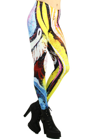 Paint Splashed Leggings