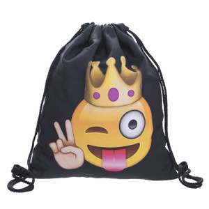 Emoji Queen Casual  Graphic Bag