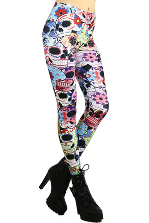 Sugar Skull Leggings 2