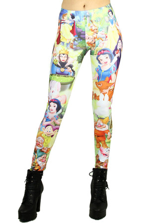 Snow White Princess Leggings