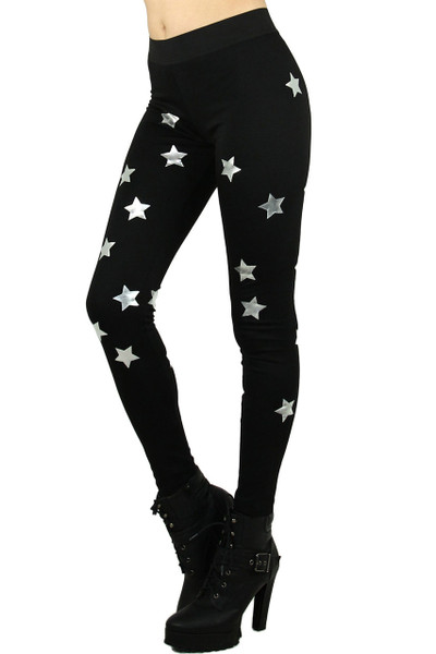 Ponte Star Leggings