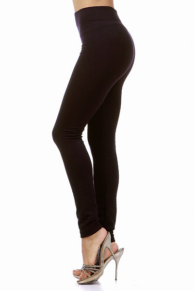 Thick Fleece Lined Leggings | OnlyLeggings.com