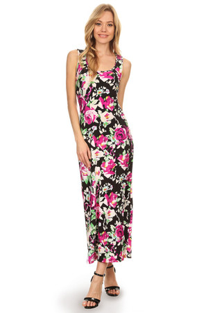 Spring Blossom Maxi Dress