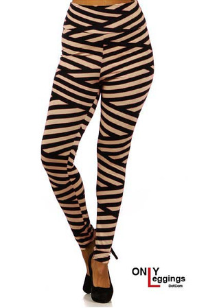 High Waisted Bandeau Plus Size Leggings