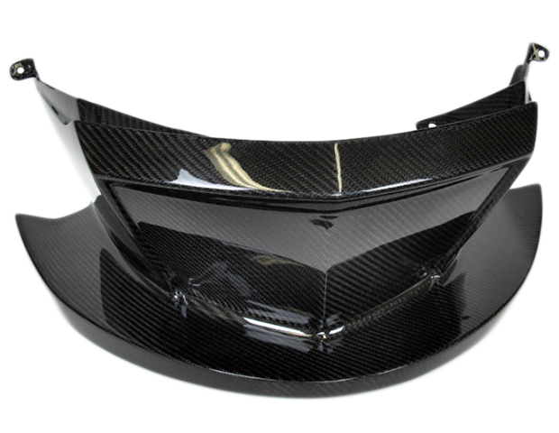 Front spoiler in carbon with fiberglass for can am spyder rs
