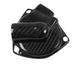 Water Pump Cover in Glossy Twill Weave Carbon Fiber for Triumph Speed Triple 1050R 2016+