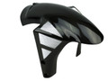 Front Fender (style 2) with Mesh in Glossy twill Weave  Carbon Fiber for Ducati 748, 916, 996, 998