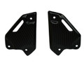 Heel Guards in Carbon with Fiberglass for Kawasaki Z900 2017+