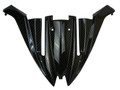 Upper Cowling in Glossy Twill Weave Carbon Fiber for Kawasaki ER6-F/ Ninja 650 2012-2016