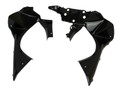 Cowling Inner Panels in Glossy Twill Weave Carbon Fiber for Kawasaki ER6-F/ Ninja 650 2012-2016
