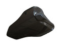 Glossy Plain Weave Carbon Fiber Seat Cover for Ducati 1198,1098, 848