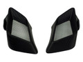 Air Inlet Covers in Glossy Twill Weave Carbon Fiber for KTM 1290 Super Duke 2014-2016