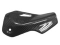 Exhaust Guard in Glossy Twill Weave Carbon Fiber for Ducati Monster 797