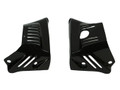 Small Lower Engine Covers in Glossy Plain Weave Carbon Fiber for BMW R nineT 2015+