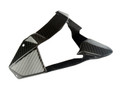 Tail Light Support in Glossy Twill Weave Carbon Fiber for Kawasaki H2