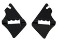 Frame Covers ( at Steering Head ) in Glossy Twill Weave Carbon Fiber for KTM 1290 Super Duke R, GT