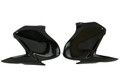 Tank Covers (set of 2 sides) in Glossy Twill Weave Carbon Fiber for Kawasaki Z900