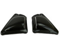 Side Panels in Glossy Plain Weave Carbon Fiber for Harley-Davidson V-Rod 2012-2017 except VRSCF (Muscle)