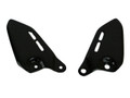 Heel Guards in Glossy Plain Weave Carbon Fiber for Kawasaki Z900RS