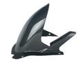 Rear Hugger with Chain Guard in Glossy Plain Weave Carbon Fiber for Suzuki RGV250 VJ22