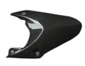 Glossy Plain Weave Carbon Fiber Rear Hugger for Triumph Daytona 675 06-12