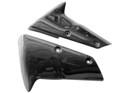 Glossy Plain Weave Carbon Fiber  Fender Extenders for Kawasaki ZX10R 08-09