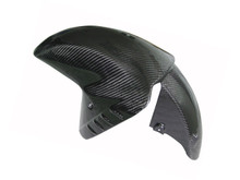 Glossy Twill Weave Carbon Fiber  Front Fender for Kawasaki ZX14/ZZR1400 06+