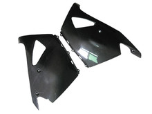 Glossy Plain Weave Carbon Fiber Lower Fairings for Kawasaki ZX14/ZZR1400 2006+