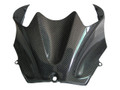 Glossy Plain Weave Carbon Fiber Tank Cover for Kawasaki ZX14/ZZR1400 2006+