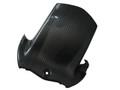Glossy Twill Weave Carbon Fiber Rear Hugger for Suzuki B-King 07-12