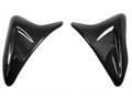 Glossy Plain Weave Carbon Fiber  Tank Covers for Suzuki GSXR 600, GSXR 750  2011-2016