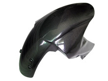 Glossy Plain Weave Carbon Fiber  Front Fender for Kawasaki Z1000 07-09