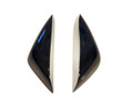 Tank Sliders for Triumph Daytona 675 06-12, Street Triple 07-12 in Glossy Plain Weave Carbon Fiber