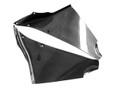 Glossy Plain Weave Carbon Fiber Fairing Inserts for Kawasaki ZX12R 02-06