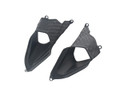 Rear Tail Vents for Ducati Panigale 899, 1199 in  Matte Plain Weave Carbon Fiber