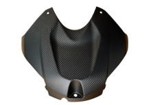 Tank Cover in Matte Twill Weave Carbon Fiber for BMW S1000R