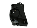 Front Sprocket Cover (Style 2) in Glossy Twill Weave Carbon Fibre  for BMW S1000RR, S1000R