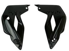 Radiator Shrouds in Glossy Twill Weave Carbon Fiber for MV Agusta Brutale 675 & 800 2013-2015, Dragster 2014-2017