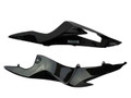Tail Side Fairings in Glossy Twill Weave Carbon Fiber for Suzuki GSXR 600, GSXR 750 2011-2016