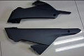 Belly Pan in Carbon with Fiberglass for Kawasaki Ninja 300, 250R 2013+