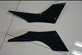 Under Seat Panels in Carbon with Fiberglass for Kawasaki Ninja 300, 250R, Z250 2013+