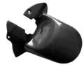 Rear Hugger in Glossy Plain Weave Carbon with Fiberglass for Buell XB12SS Lightning Long