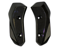 Radiator Covers in Glossy Plain Weave Carbon Fiber for Yamaha FZ-07/ MT-07