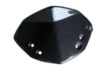 Wind Screen in Glossy Plain Weave Carbon Fiber for KTM Duke 125, 200 & 390 2011-2016