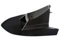 Front Fender Upper Cover in Glossy Plain weave Carbon Fiber for Husqvarna Nuda 900/R 2012-2013
