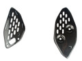 Heel Guards in Glossy Plain Weave Carbon Fiber for Yamaha FZ-03/ MT-03, R3