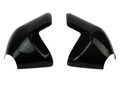Exhaust Shields ( with foil) in Glossy Plain Weave Carbon Fiber for Triumph Speed Triple 1050R 2016+