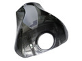 Rear Tank Cover in Glossy Plain weave Carbon Fiber for Kawasaki ZX10R 2011+